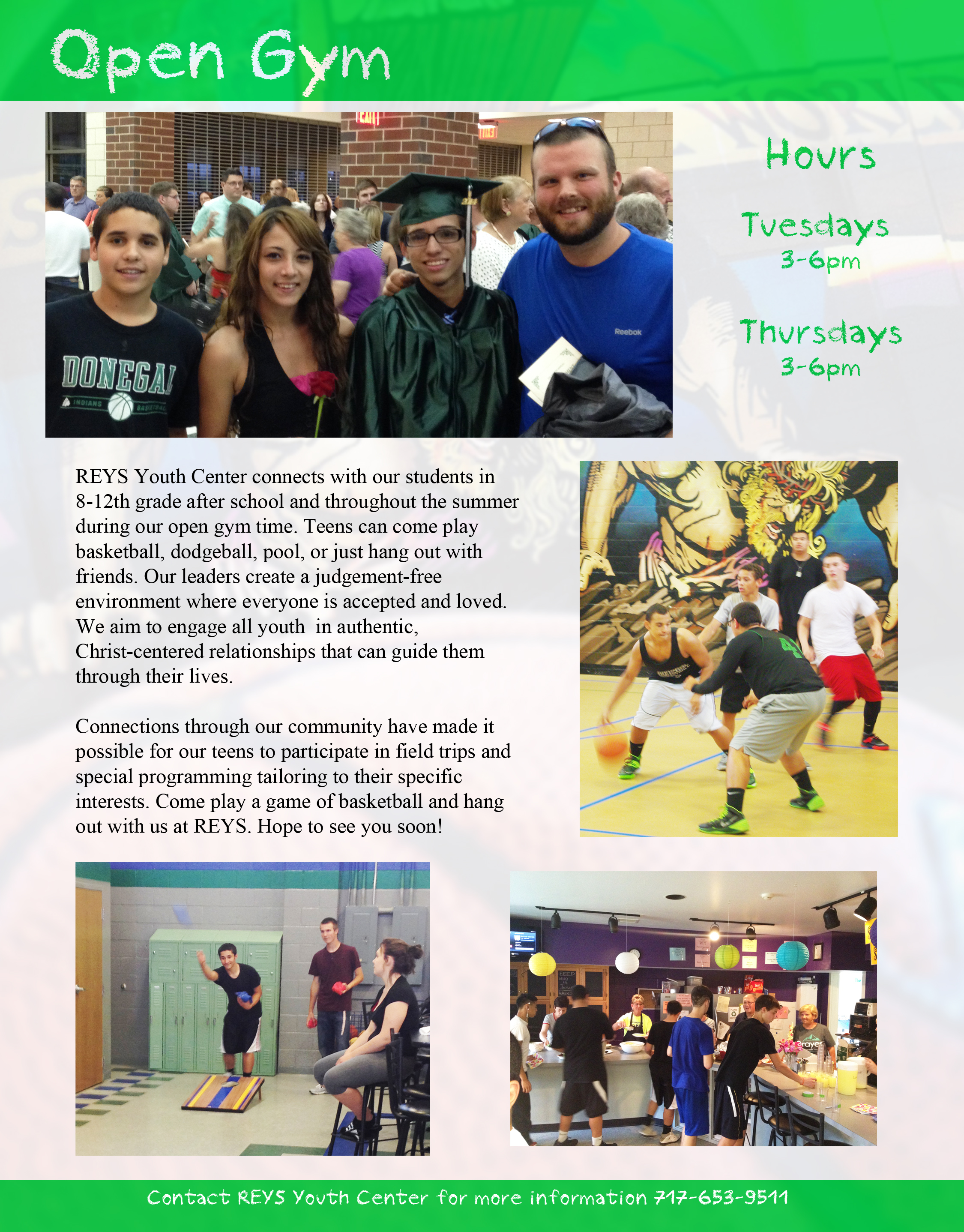 Open Gym One Page